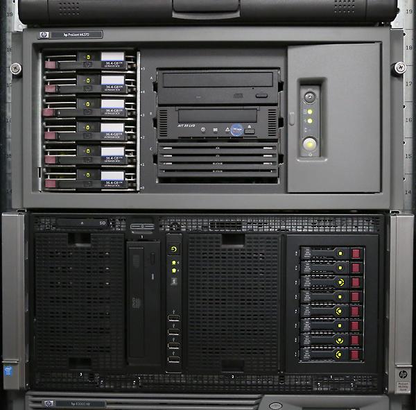 ML350p-Gen8サーバラック