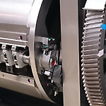 印刷機とCTPを入れ替えました